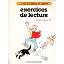EXERCICES DE LECTURE CAHIER 1 NIVEAU 4 de JEAN-LOUIS THOMAS
