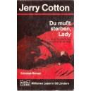 DU MUST STERBEN, LADY de JERRY COTTON