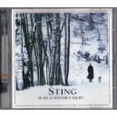 STING - IF ON A WINTER'S NIGHT... CD AUDIO