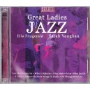 GREAT LADIES JAZZ ELLA FITZGERALD, SARAH VAUGHAN 2 CD-URI AUDIO