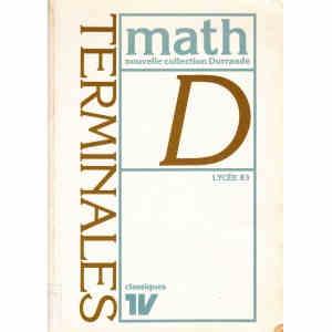 MATH TERMINALES D