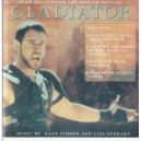 GLADIATOR. MUSIC BY HANS ZIMMER AND LISA GERRARD CD AUDIO