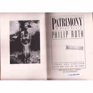 PATRIMONY. A TRUE STORY