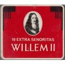 CUTIE DE TIGARETE WILLEM II MADE IN HOLLAND