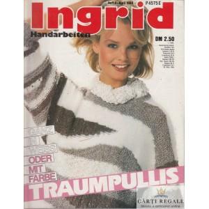 INGRID - REVISTA DE TRICOTAJE NR. 4  APRILIE 1984