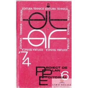 PROIECT DE PLAN EDITORIAL 1974