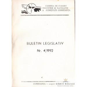 BULETIN LEGISLATIV NR. 4/1992