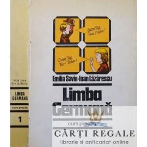 LIMBA GERMANA. CURS PRACTIC de EMILIA SAVIN 2 VOLUME