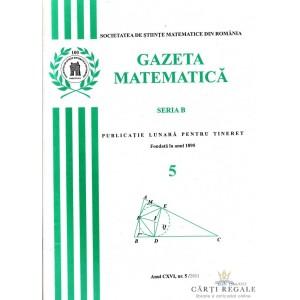 GAZETA MATEMATICA NR. 5/2011