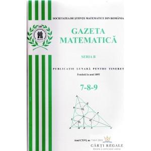 GAZETA MATEMATICA NR. 7-8-9/2011