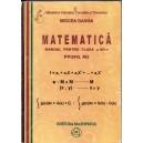 MATEMATICA. MANUAL PT CLASA A XII A PROFIL M2 de MIRCEA GANGA