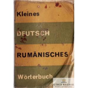 KLEINES DEUTSCH RUMANISCHES WORTERBUCH de E. SIRETEANU