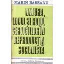 NATURA, LOCUL SI ROLUL SERVICIILOR IN REPRODUCTIA SOCIALISTA de MARIN BABEANU