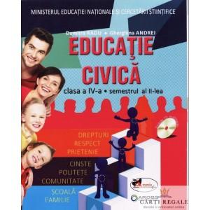 EDUCATIE CIVICA. MANUAL PT CLASA A IV A SEMESTRUL  AL II LEA de  DUMITRA RADU