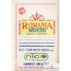ROMANIA. HARTA RUTIERA