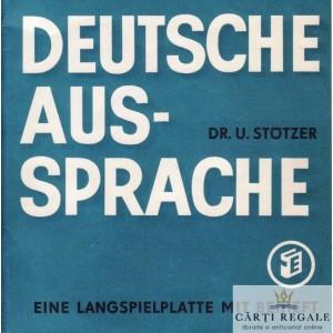 DEUTSCHE AUS SPRACHE de DR. U. STOTZER -   DISC VINIL