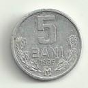 MONEDE 5 BANI REPUBLICA MOLDOVA DIN 1995 SI 1996