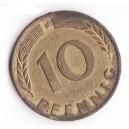 MONEDA 10 PFENNIG GERMANIA 1993