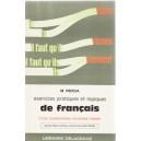 EXERCICES PRATIQUES ET LOGIQUES DE FRANCAIS CYCLE ELEMENTAIRE de M. PEDOJA