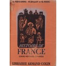 HISTOIRE DE FRANCE de E. PERSONNE