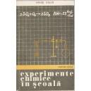 EXPERIMENTE CHIMICE IN SCOALA de ERVIN FALLO